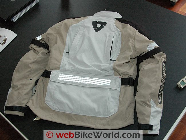 Rev'it Defender GTX Jacket - Rear View