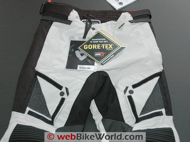 Rev'it Defender GTX Pants - Front Vents and Waist