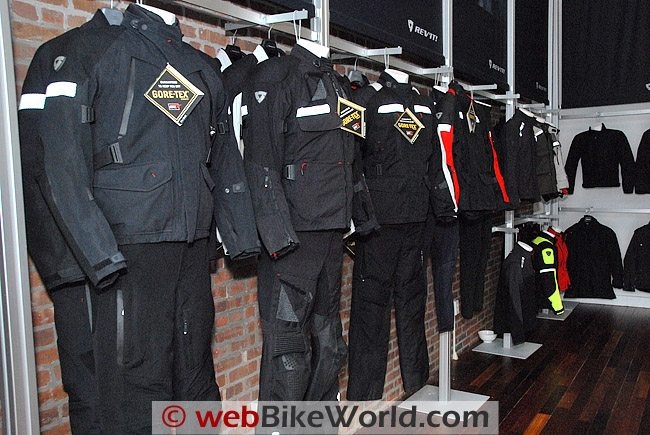 Rev'it 2010 Gore-Tex Jackets