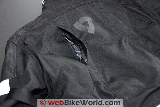 Rev'it Legacy GTX Jacket - Rear Vent