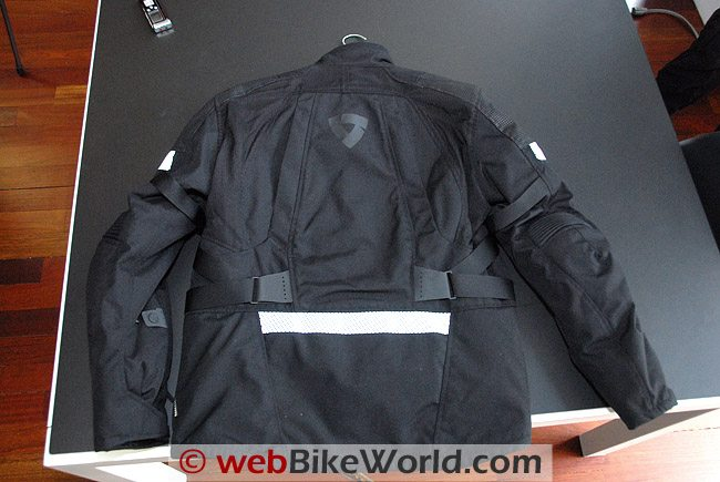 Rev'it Legacy GTX Jacket - Rear View