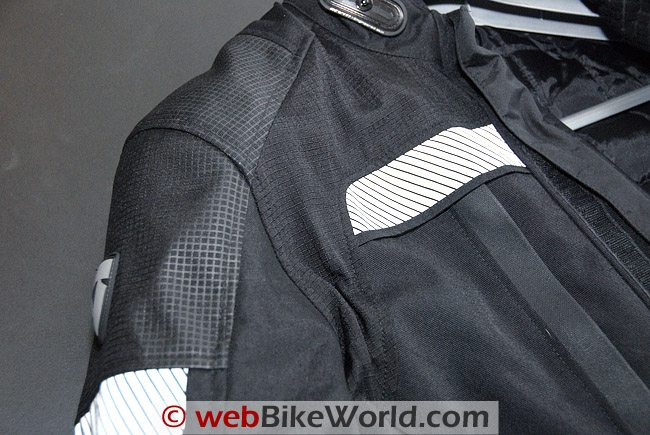 Rev'it Legacy GTX Jacket - Shoulder and Chest Details