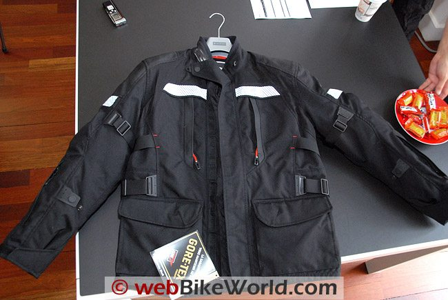 Rev'it Legacy GTX Jacket - Front View