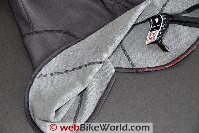 Fleece material used in Rev'it neck warmers