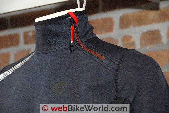 Rev'it Aztec WSP Jacket - Neck Close-up