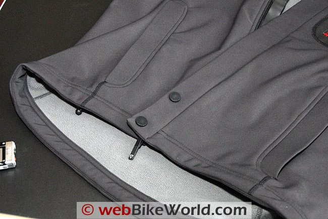 Waist of the Ranger WSP jacket.