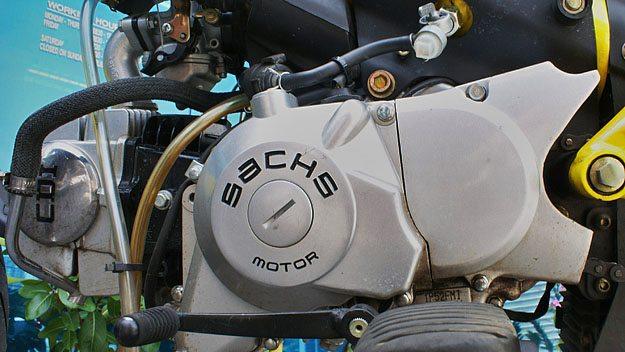 Momos Sachs 125 cc Engine