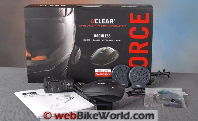 UClear HBC200 Review - webBikeWorld