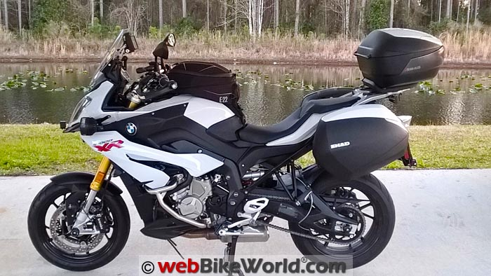 SHAD SH36 for BMW S1000XR Review