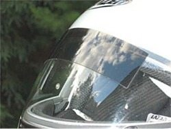 Sun shade - sun shield for motorcycle helmets