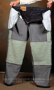 Sliders Kevlar jeans, inside front lining