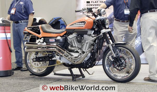 The Storz Sportster-based flat track homage.