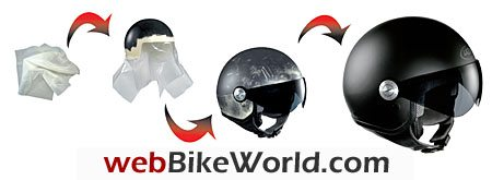 Lazer Helmets SuperSkin - Coating Process for Motorcycle Helmets