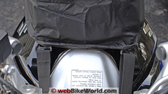 Suzuki GW250 Tank Bag Cover Front