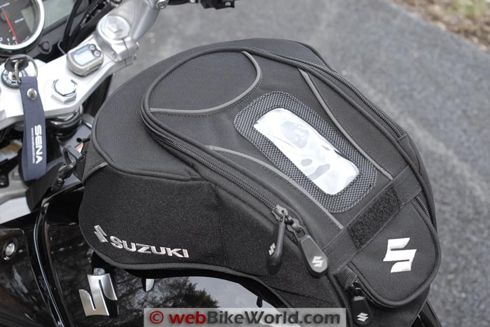 Suzuki GW250 Tank Bag Cover Top