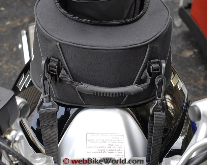 Suzuki GW250 Tank Bag Front Side