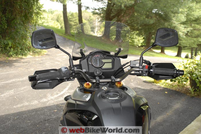 SW-Motech Bar Risers on Suzuki V-Strom 1000 ABS