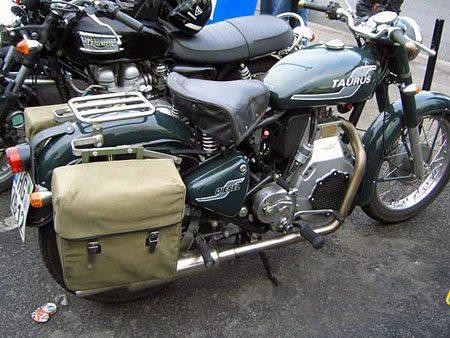 Taurus Diesel Motorcycle