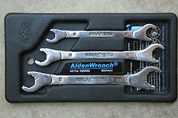 Alden Combo Wrench 5//8 /& 11//16 Ratching