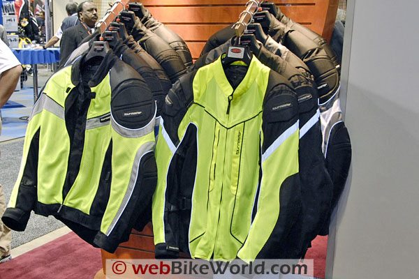 Tourmaster Intake Air jacket (L) and Sonora Air mesh jacket (R).