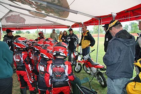 Kids Motocross Training Instructors