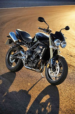 Triumph Street Triple With Accessories