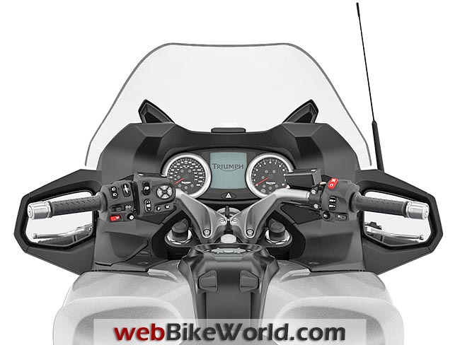 Triumph Trophy Dashboard