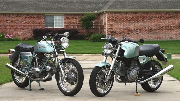 Ducati GT750 and GT1000