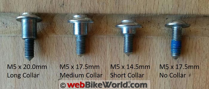 Typical Fasteners Used on the BMW S1000XR
