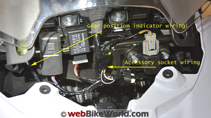 Versys Accessory Wiring