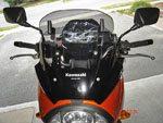 Kawasaki Versys, Black, Front Quarter View