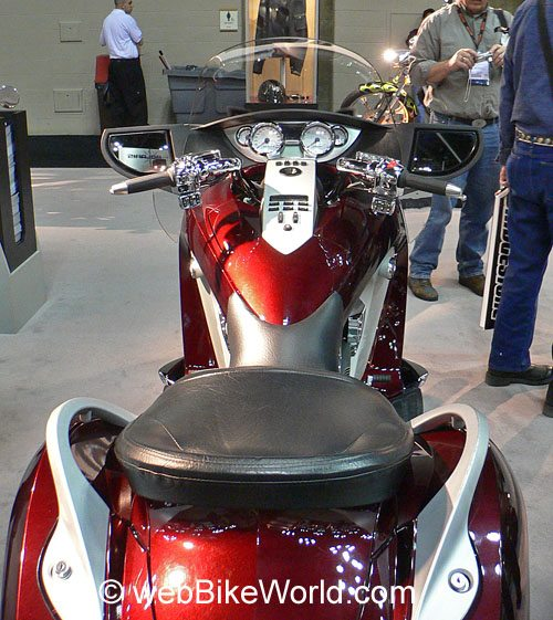 Victory Vision Motorcycle - Instruments