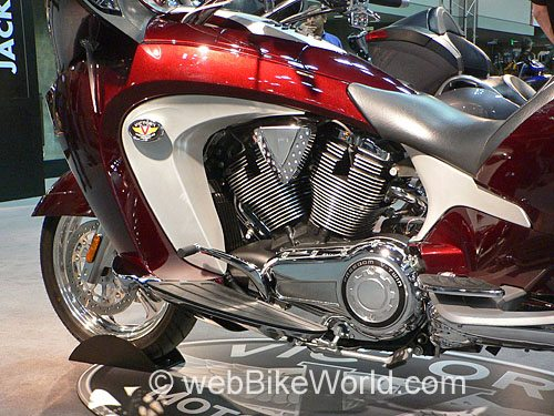 Victory Vision Motorcycle - Engine