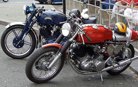 Vincent cafe racers
