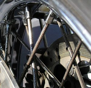 Ducati GT1000 Spokes
