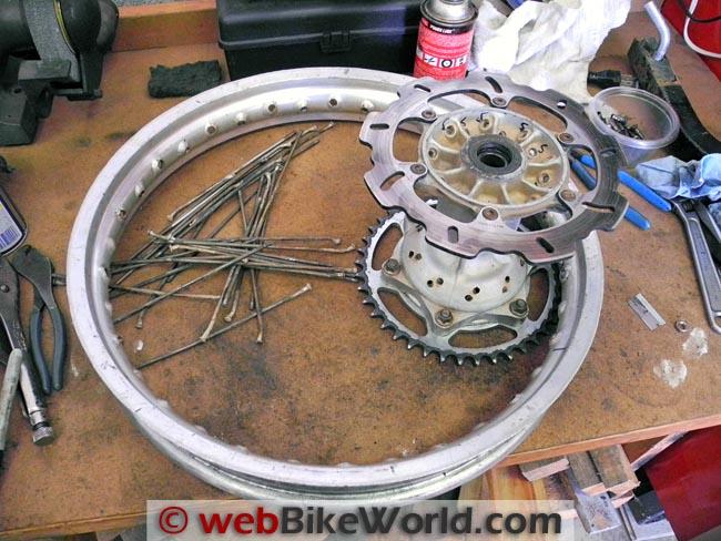 Wheel Rim Ready for Re-Spoking