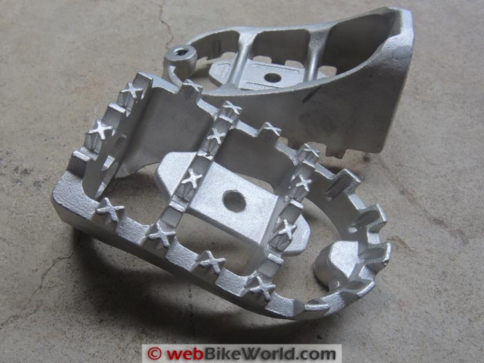 Wide Foot Peg Castings