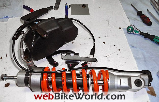 Wilbers Shocks Electronic Suspension - webBikeWorld