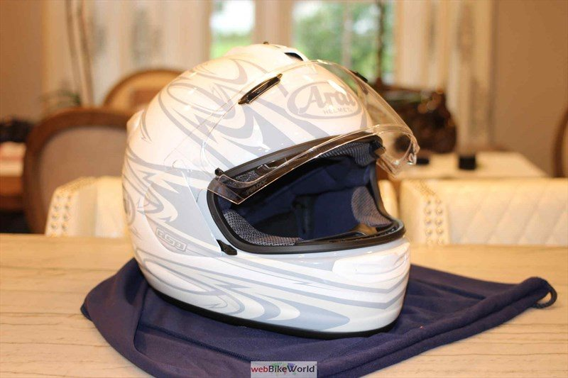 Arai FT-X in Torrent White