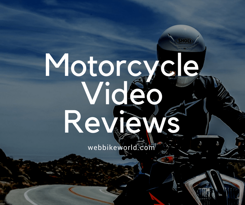 Motorcycle Video Reviews