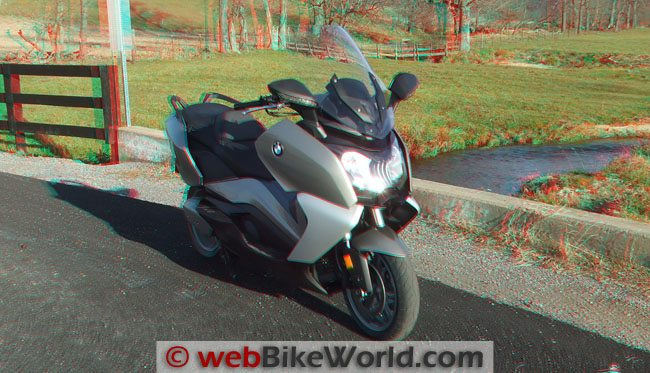 BMW Scooter 3D Photo