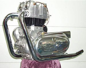 Royal Enfield Interceptor Engine - Left Side