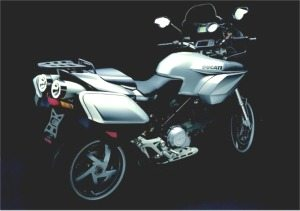 Multistrada - Rear Quarter View