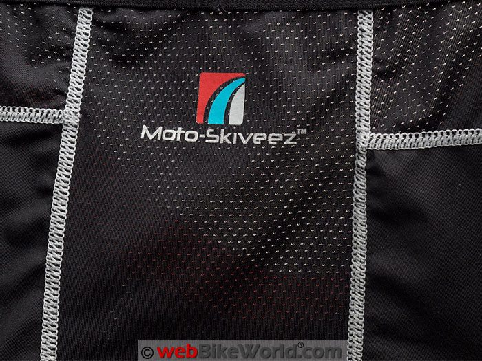 Moto Skiveez Performance Tights Stiching