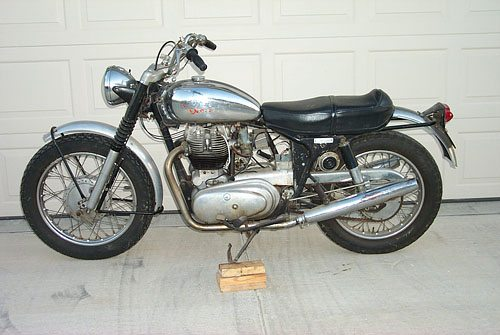 Royal Enfield Interceptor Before Restoration