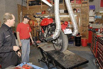 Ducati Throttle Body Synchronization