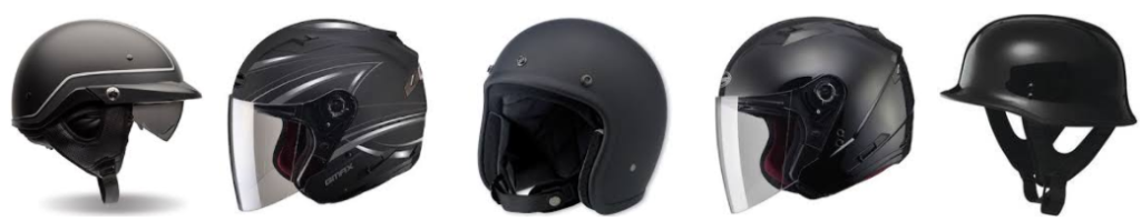 best half face helmets