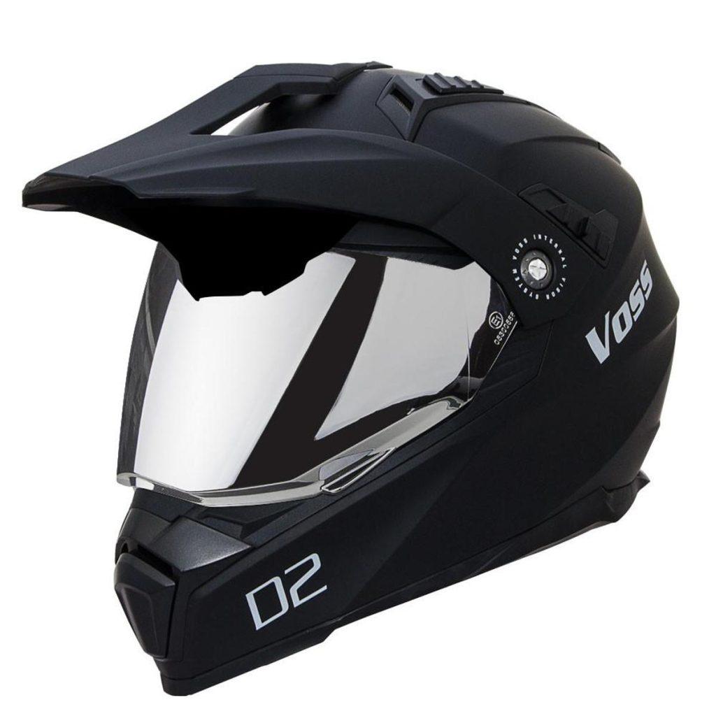 Dual-Sport Motorcycle Helmet