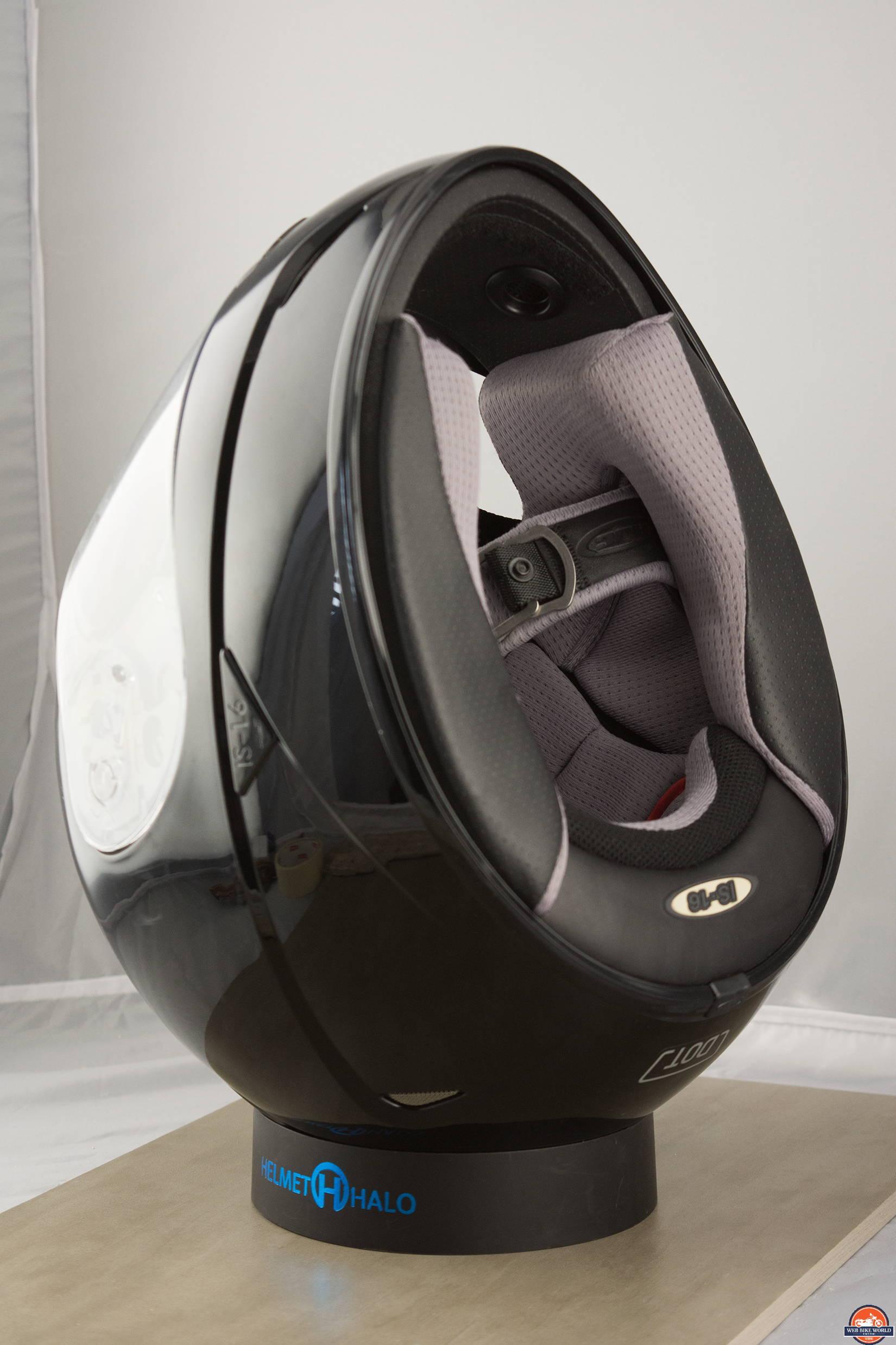 Helmet Halo Portable Helmet Stand