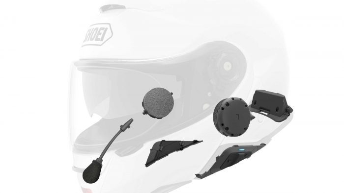 Shoei Neotec II SENA Integration